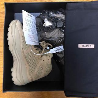 アディダス(adidas)のYEEZY season6 デザートブーツ サイズ42 Taupe イージー(ブーツ)