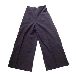 ディーホリック(dholic)の新品 ディーホリック DHOLIC 黒 ウール風 秋 冬 ワイド パンツ (カジュアルパンツ)