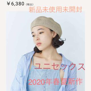 CA4LA - 新品未使用未開封 新作 カシラリネンベレー帽定価¥6380