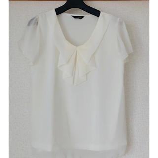 シマムラ(しまむら)の白半袖カットソー(カットソー(半袖/袖なし))