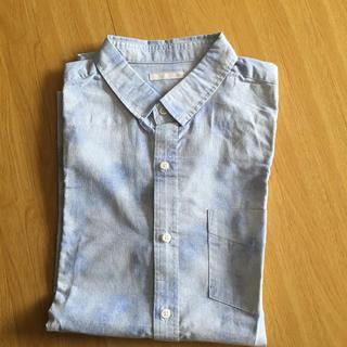 ジーユー(GU)のGU メンズ シャツ Mサイズ☆新品未使用(シャツ)