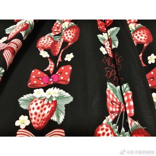 Angelic Pretty - strawberry jsk set 黒