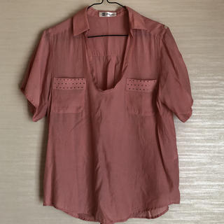エムケーミッシェルクラン(MK MICHEL KLEIN)の半袖シャツ ブラウス ミッシェルクラン(シャツ/ブラウス(半袖/袖なし))