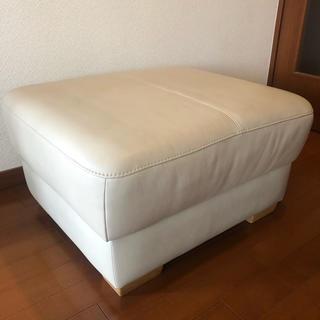 カリモクカグ(カリモク家具)のカリモク  オットマン アイボリー karimoku ZT85モデル(オットマン)