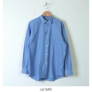 COMOLI - 20SS 新品 COMOLI コモリシャツ SAX サイズ3 シャツ