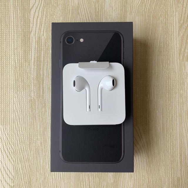iPhone(アイフォーン)のiPhone イヤホン Apple純正品 スマホ/家電/カメラのオーディオ機器(ヘッドフォン/イヤフォン)の商品写真