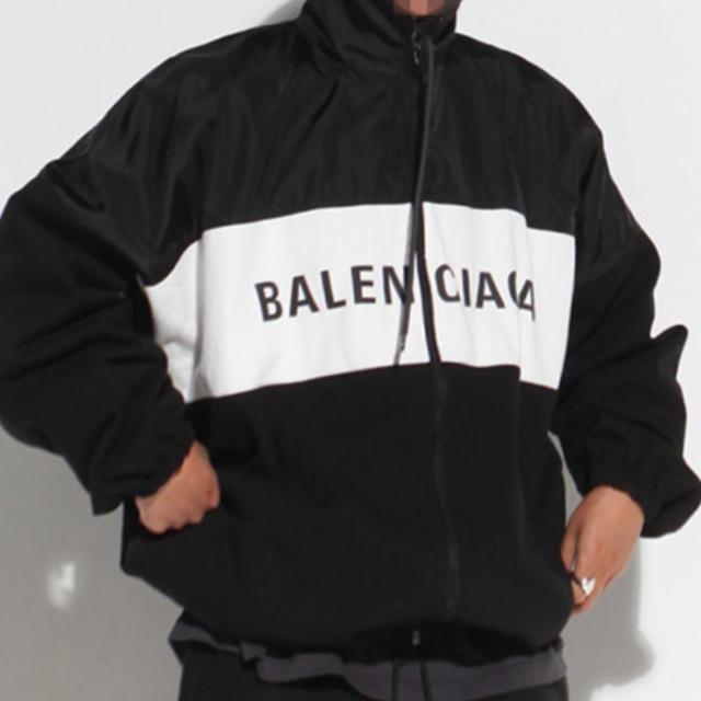Balenciaga(バレンシアガ)のLogo Denim Track Jacket メンズのジャケット/アウター(ナイロンジャケット)の商品写真