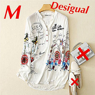DESIGUAL - デシグアル  シャツ Desigual Mサイズ 未使用