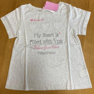メゾピアノジュニア(mezzo piano junior)の女の子 150 最終値下げ(Tシャツ/カットソー)