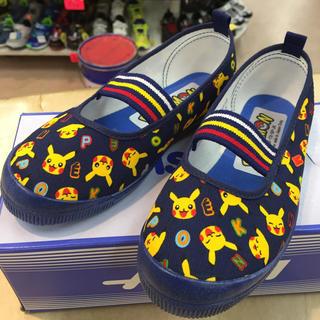 アサヒ 上靴 ポケモンS04 15.0cmから19.0cmまで在庫あります