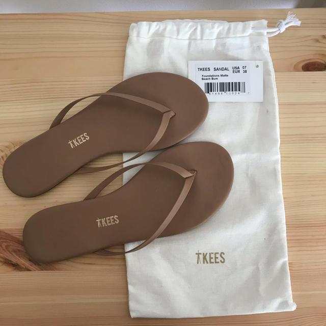 DEUXIEME CLASSE(ドゥーズィエムクラス)のティキーズビーチサンダル レディースの靴/シューズ(サンダル)の商品写真