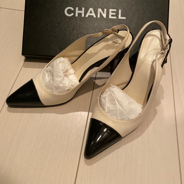 CHANEL(シャネル)の専用です。CHANEL パンプス レディースの靴/シューズ(ハイヒール/パンプス)の商品写真