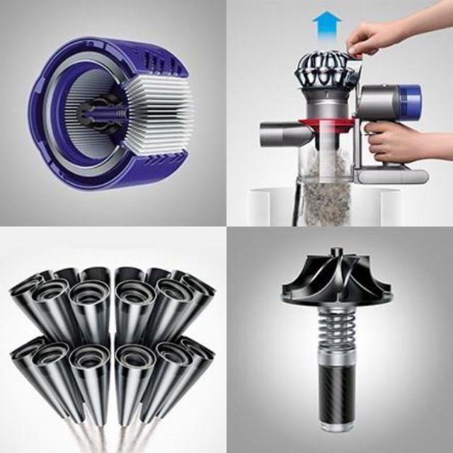 Dyson(ダイソン)のダイソン 掃除機 コードレス Dyson V7 fluffy オンライン限定モデ スマホ/家電/カメラの生活家電(掃除機)の商品写真