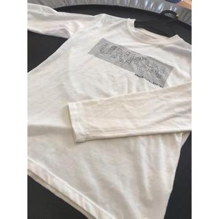 ikka - ikka ロングTシャツ 白 150cm