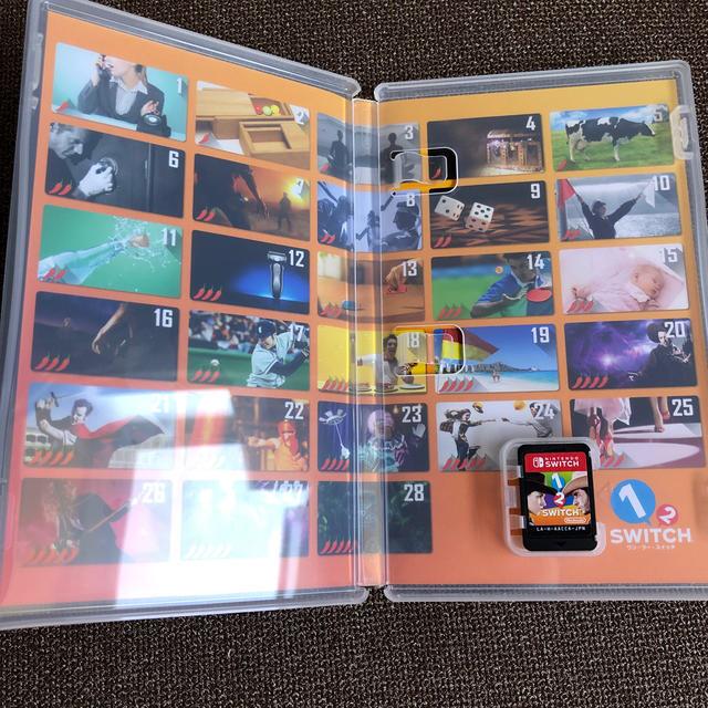 Nintendo Switch(ニンテンドースイッチ)の1-2-Switch(ワンツースイッチ) Switch エンタメ/ホビーのゲームソフト/ゲーム機本体(家庭用ゲームソフト)の商品写真