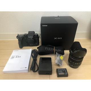 フジフイルム(富士フイルム)のようきん様専用 FUJIFILM X-H1+XF18-55mm セット(ミラーレス一眼)