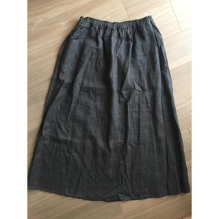 MUJI (無印良品) - 無印良品ロングスカート