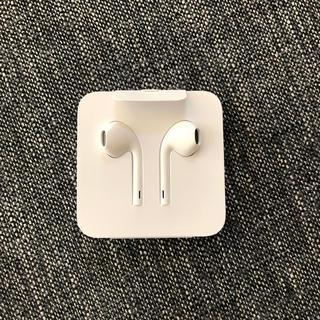 Apple - 【新品未使用】iPhone付属品 純正イヤホン