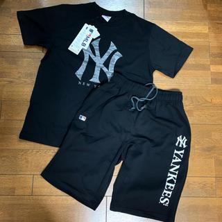 新品★ニューヨークヤンキース セットアップ  Tシャツ&ハーフパンツ L