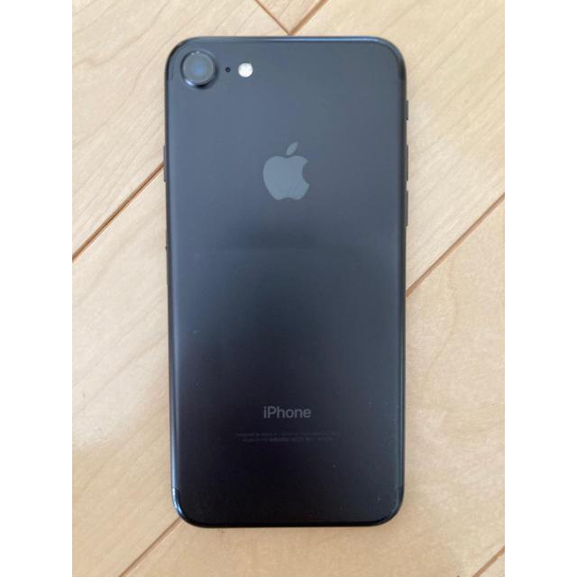 Apple(アップル)の美品iPhone7 32BG BLACK バッテリー交換済 スマホ/家電/カメラのスマートフォン/携帯電話(スマートフォン本体)の商品写真