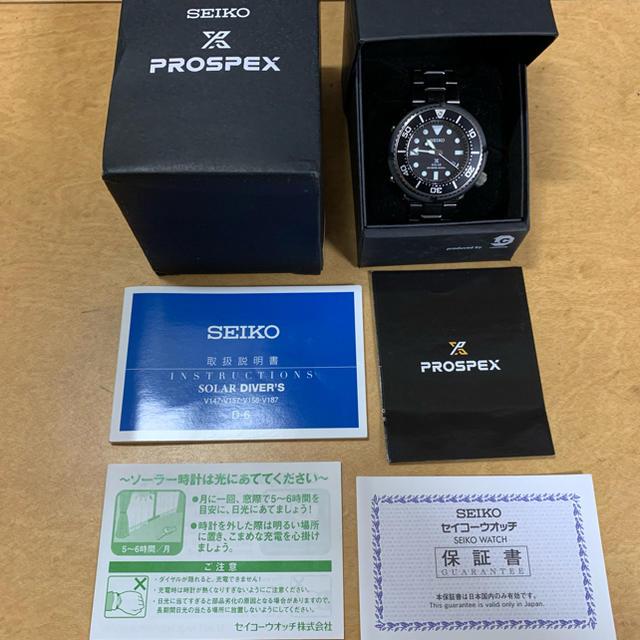 SEIKO(セイコー)のSEIKO プロスペックス ソーラーダイバー SBDN021 メンズの時計(腕時計(アナログ))の商品写真