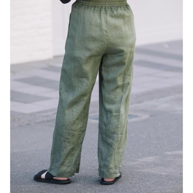 DEUXIEME CLASSE(ドゥーズィエムクラス)のミューニック リネンパンツ レディースのパンツ(カジュアルパンツ)の商品写真