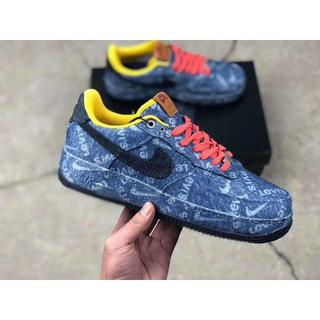 NIKE - NIKE AIR FORCE 1 LOW LEVIS 28cm