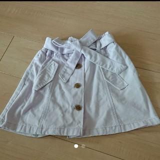 ジーユー(GU)のGU  キッズスカート 110(スカート)