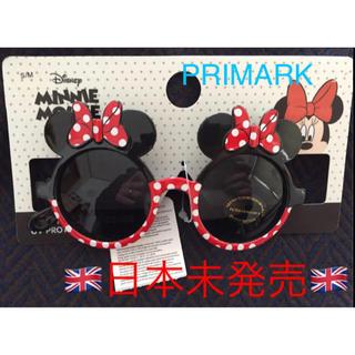 ディズニー(Disney)の【新品】日本未発売 ミニー サングラス S/M ディズニーサングラス イギリス発(サングラス)