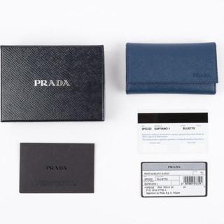 プラダ(PRADA)の新品 PRADA プラダ メンズ キーケース 鍵入れ BALTICO ネイビー(キーケース)