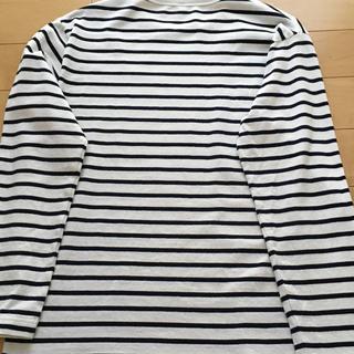 ユニクロ(UNIQLO)のユニクロ メンズ ボーダー  長袖(Tシャツ/カットソー(七分/長袖))