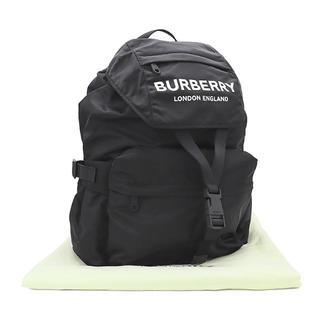 バーバリー(BURBERRY)のBURBERRY ロゴ バックパック ナイロン ブラック A2396(バッグパック/リュック)