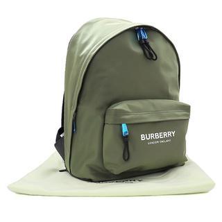 バーバリー(BURBERRY)のBURBERRY ロゴ バックパック ナイロン カーキ A2397(バッグパック/リュック)