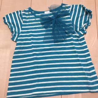 ジーユー(GU)のジーユー ボーダー Tシャツ(Tシャツ/カットソー)