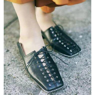 Ameri VINTAGE - ameri vintage/大人気レースアップローファーS 靴