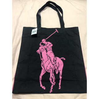 POLO RALPH LAUREN - 【新品未使用・ラスト1点】ポロラルフローレン ピンクポニー ビックポニー バッグ