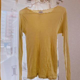 コーエン(coen)のcoen フリーサイズ 黄色 ロンT 長袖 コーエン(Tシャツ(長袖/七分))