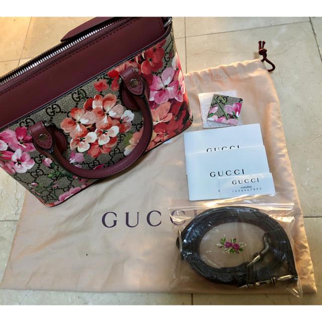 Gucci(グッチ)の美品✨グッチ ブルームス  2way ショルダーバッグ  ミニ レディースのバッグ(ショルダーバッグ)の商品写真