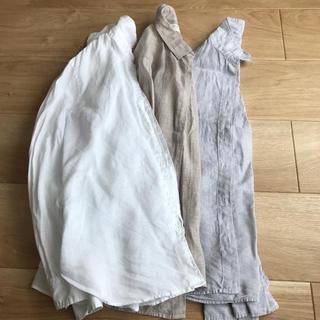 UNIQLO - ユニクロリネンシャツ 3色