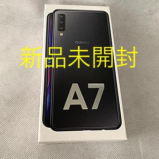 ギャラクシー(Galaxy)のGalaxy A7 64GB ブラック Simフリー(スマートフォン本体)