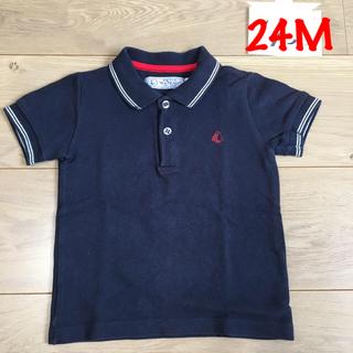PETIT BATEAU - プチバトー  ポロシャツ  24m