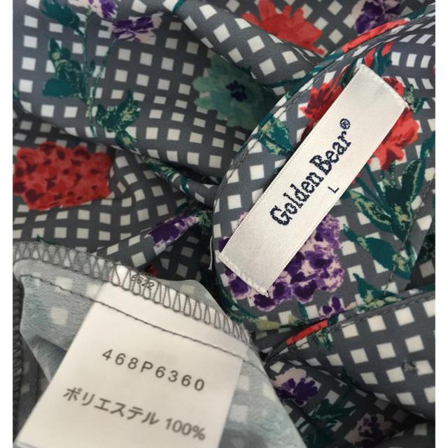 Golden Bear(ゴールデンベア)の新品✨ゴールデンベアー  パールボタン レディースのトップス(シャツ/ブラウス(長袖/七分))の商品写真