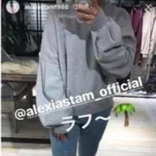 ALEXIA STAM - ALEXIA STAM♡トレーナー