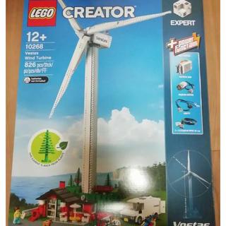 レゴ(Lego)のレゴ ブロック クリエイター ベスタス風力発電所 未使用箱つき(積み木/ブロック)