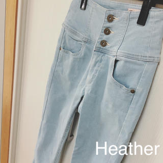 heather - Heather iSKO ハイウエストスキニー