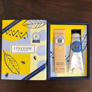 L'OCCITANE - ロクシタン シア ハンド&UVリップバーム セット