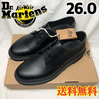 ドクターマーチン(Dr.Martens)の新品◉ドクターマーチン MONO ブラック 1461 3ホールギブソン 26.0(ドレス/ビジネス)