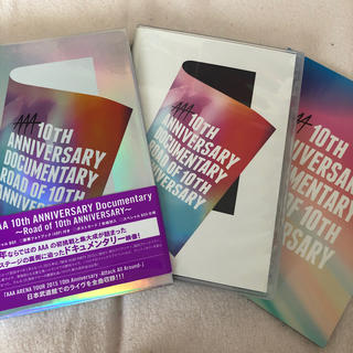 AAA - AAA 10th Anniversary Documentary 初回盤DVD