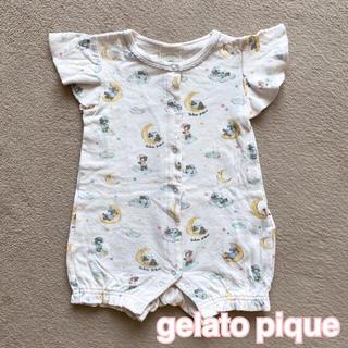 ジェラートピケ(gelato pique)のgelato  pique ロンパース 80 女の子(ロンパース)