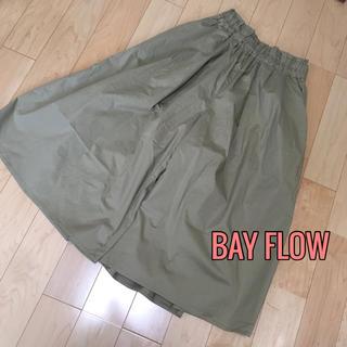 ベイフロー(BAYFLOW)のBAY FLOW♡幅広ワイドパンツ ガウチョパンツ(バギーパンツ)